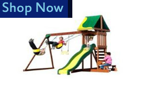 backyarddiscovery cedarplay Wooden Playsets For Kids