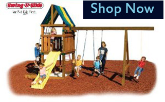 buy alpine diy swing Wooden Playsets For Kids
