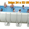 Intex 24 x 12 x 52 Pool – Ultra Frame Rectangular Pool For Your Backyard