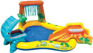 kids pool with slide