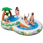 intex jungle play center 150x150 Kids Swimming Pools With Slides   Small Kids Pools Youll Love