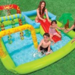 Intex Recreation Small Kids Pool With Slide