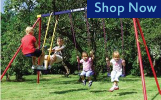 Kettler Wooden Swing Set