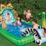safari falls small kids pool1 150x150 Kids Swimming Pools With Slides   Small Kids Pools Youll Love