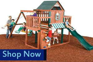 Swing N Slide Winchester Wooden Playset