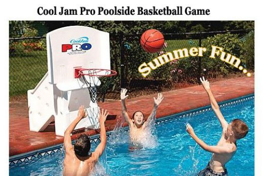 Super wide 44 cool jam pro pool basketball hoop worth it - Basketball goal for swimming pool ...