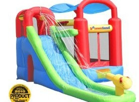 bounceland water slide