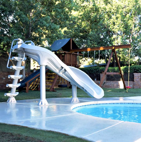 Interfab X Stream 2 In Ground Swimming Pool Slide