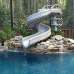 Interfab G Force 2 Slide For Inground Swimming Pools