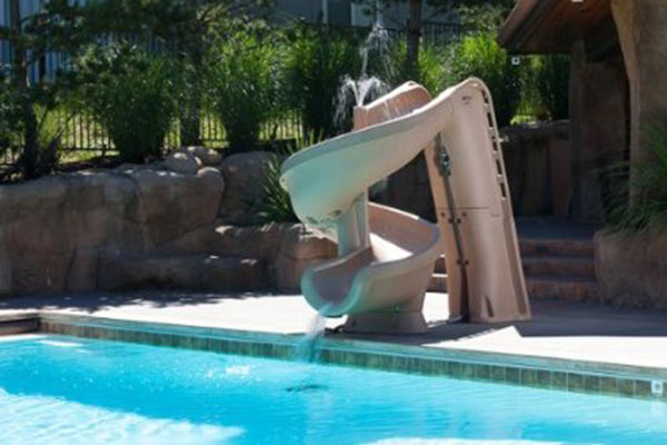 Inground Pool Slides For Small Yards Good Quality Highly Rated