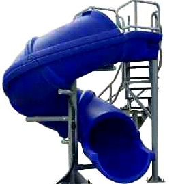inground pool slides