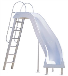 interfab city slide inground swimming pool