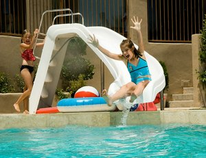 Interfab White Water Pool Slide For Inground Pools Reviews