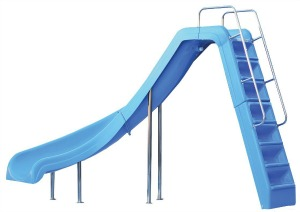 interfab wild ride slide for inground pools