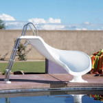 Interfab Zoomerang Water Slide For Inground Swimming Pools