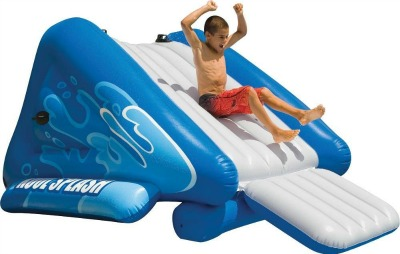 Best swimming pool slides for sale 2018 highly rated for Best rated inflatable swimming pool