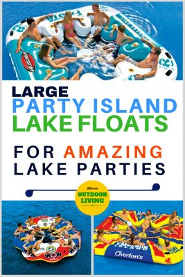Giant Multi Person Inflatable Rafts For The Lake Amazing Parties Includes 3