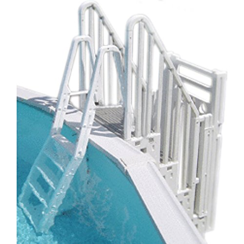Heavy Duty Above Ground Pool Ladder With 400 Lbs Weight Limit Ultimate Outdoor Living
