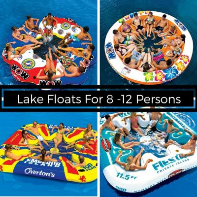 Lake Floats For 8 12 Persons This Includes The Red And Blue By Wow