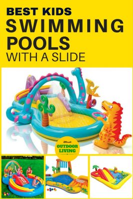 Best Kids Pools With A Slide Toddlers And Young Will Love These