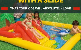 Kids Swimming Pools With Slides Small Theyll Love