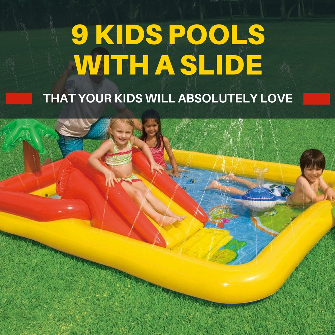 Kids Swimming Pools With Slides Small Kids Pools They 39 Ll Love Ultimate Outdoor Living
