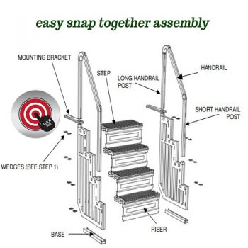Easy snap together assembly