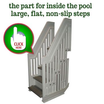 Secure no slip steps