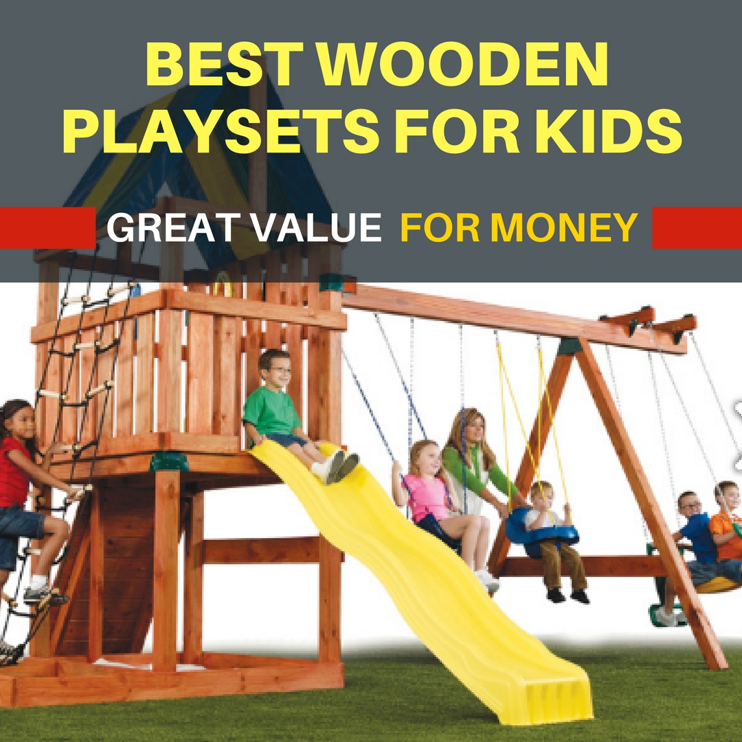 best wooden playsets for kids u003e u003e choose from small or big yards