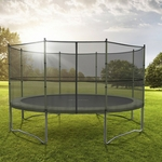 Acon trampoline in three sizes. Rectangular shape up to 800 lb. weight capacity
