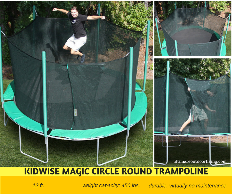 High Weight Limit Trampolines: From 330 lbs  to 800 lbs  Weight